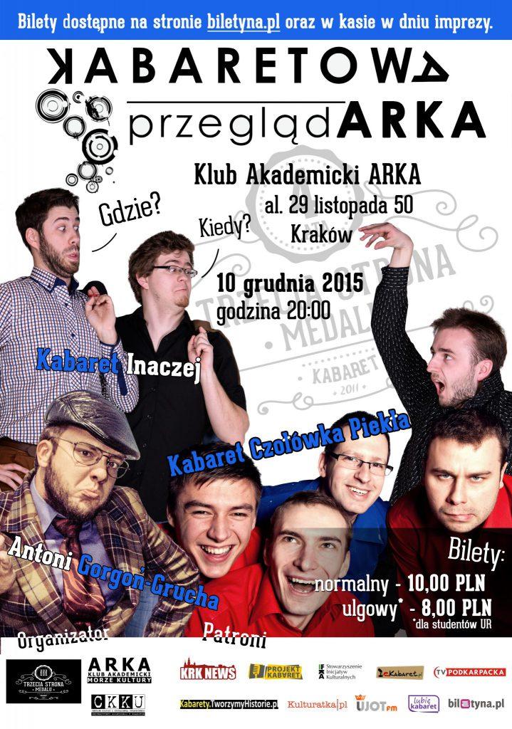 Świąteczna Kabaretowa PrzeglądARKA 10.12.15 r.