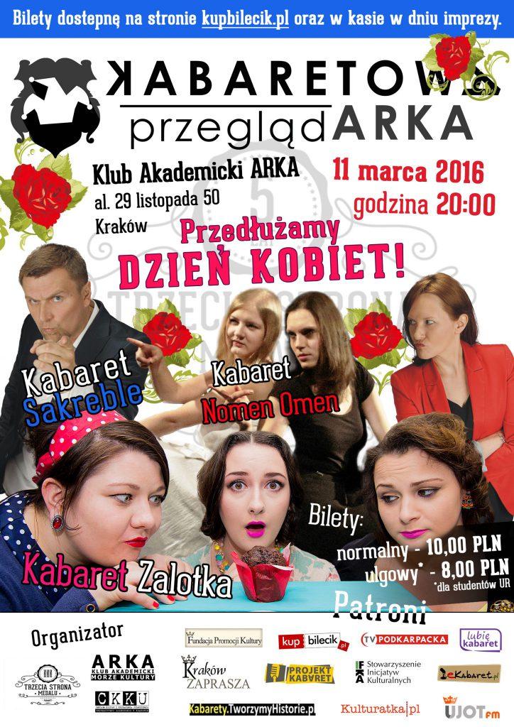 Kabaretowa PrzeglądARKA na Dzień Kobiet 11.03.2016 r.