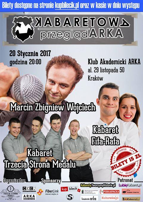X Kabaretowa PrzeglądARKA – styczeń 2017!