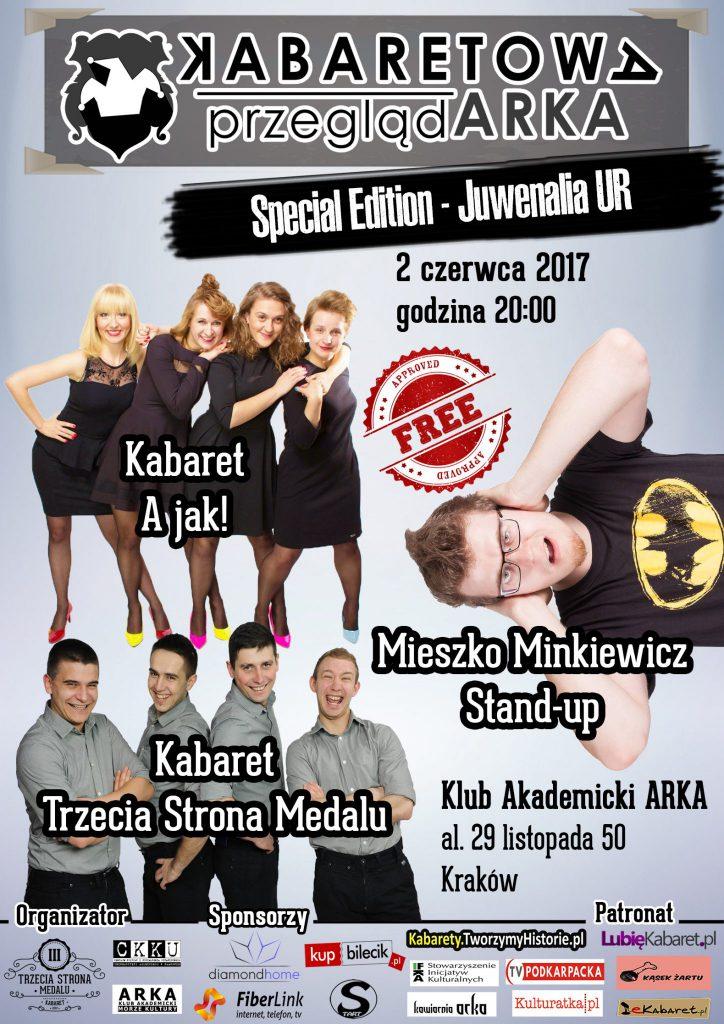 Kabaretowa PrzeglądARKA – Specjalna Edycja Juwenalia UR!