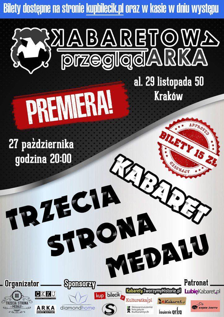 XIII Kabaretowa PrzeglądARKA – Otwarcie nowego sezonu. Premiera nowego programu!