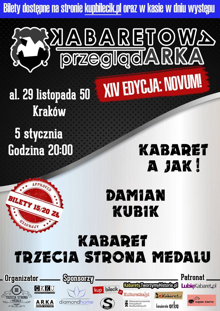 XIV Kabaretowa PrzeglądARKA – NOVUM!