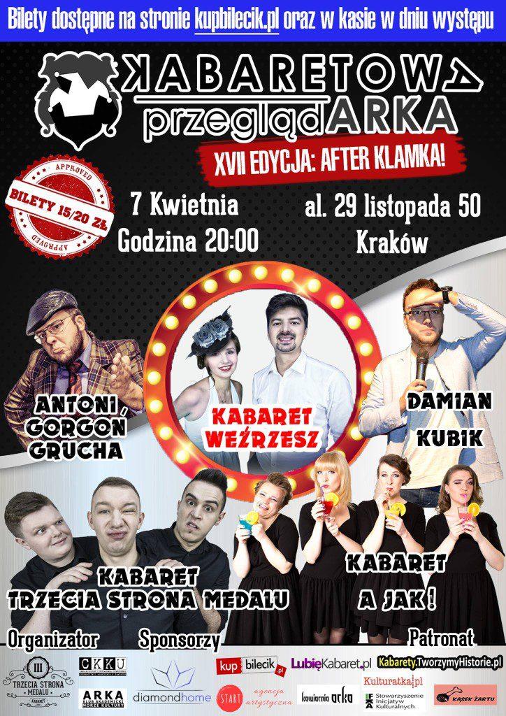 XVII Kabaretowa PrzeglądARKA – AFTER KLAMKA