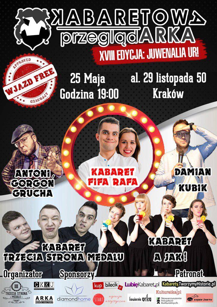 XVIII Kabaretowa PrzeglądARKA – JUWENALIA UR